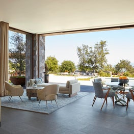Malibu Family Room with indoor/outdoor living