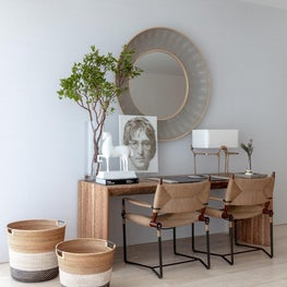 Home office for two / Rustic, Contemporary and Coastal