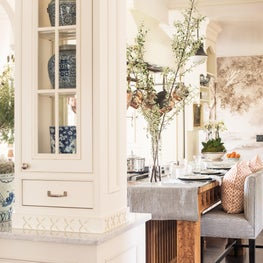 Kitchen at Lake Forest Showhouse