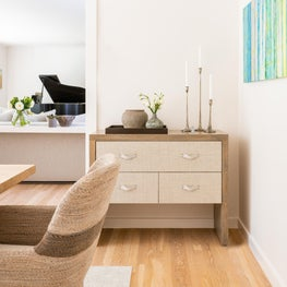 Weston Tranquil Living Room - Sideboard Styling