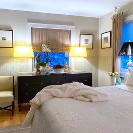 Winter White Bedroom Decor