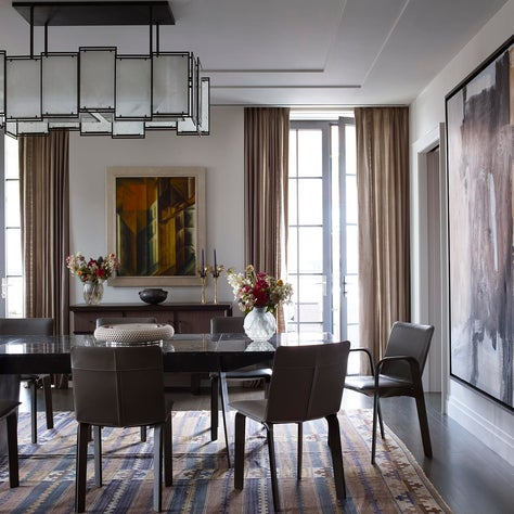 Dining Room - Downtown Triplex Apartment