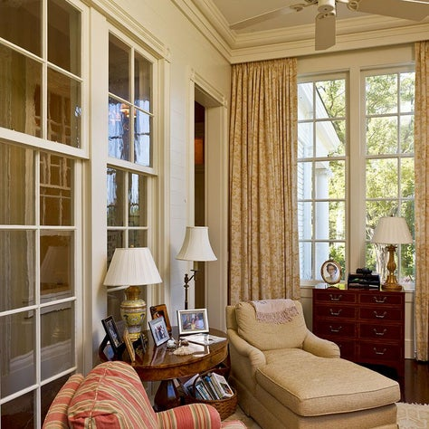 Greek Revival Sunroom/ Master Bedroom Sitting Room.