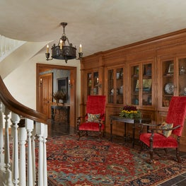 Traditional Armories Fill the Lower Level Hallway Walls - Minnesota