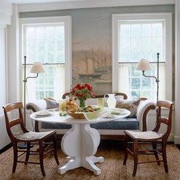An East Hampton Dining Nook