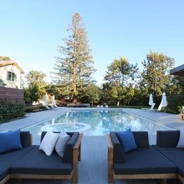 Los Altos Hills Pool, Landscape & Pool House
