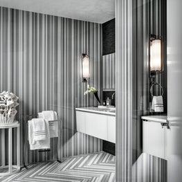 Ritz Carlton Residences, Boston; Full marble slab walls