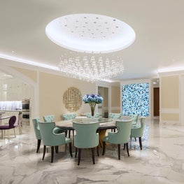 Deco Mansion, dining room