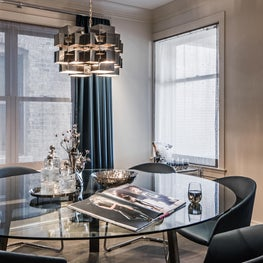 Earthy Glamour, Dining Room2
