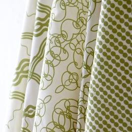 Workroom C Green Fabrics
