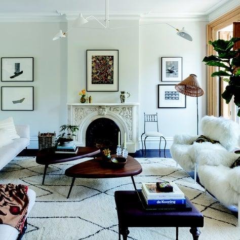 Brooklyn Townhouse - Living Room