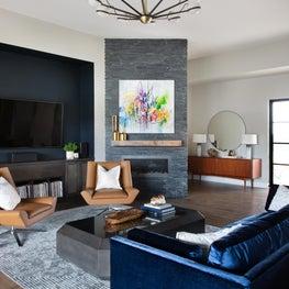 Artistic Living Room - DREAM CATCHER MODERN GETAWAY
