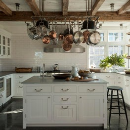 Farmhouse Kitchen.  Martha's Vineyard, MA