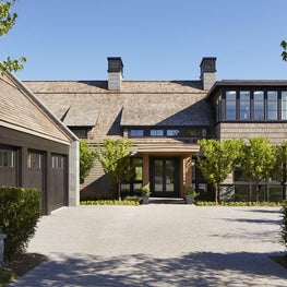 This Minnetonka home blends historic architectural elements with minimalism