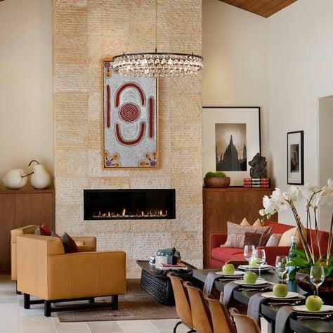 Zen Retreat Residence | Dining Room