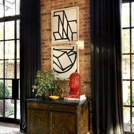 Lincoln Park Residence Living Room Vignette