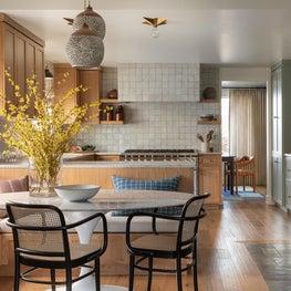 Olympic Manor Mid-Century kitchen nook