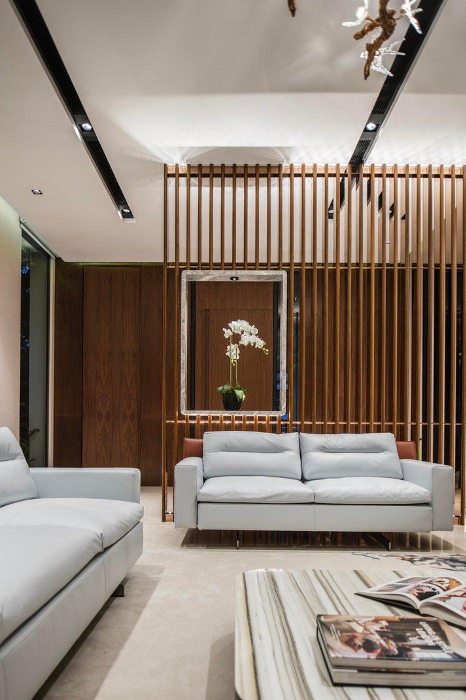 Millenial house, living room