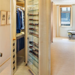 Our solution was a functional, multi faceted, luxurious closet.