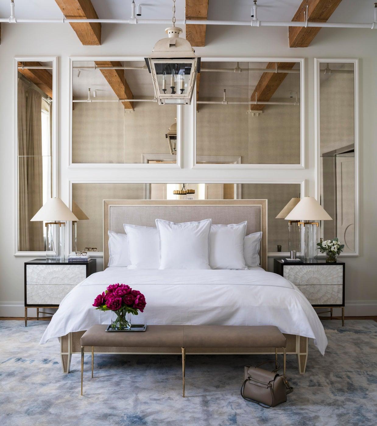Master Bedroom in Williamsburg Loft