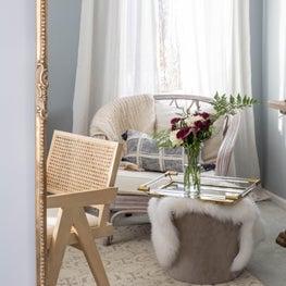 Serene & Elegant Home Office