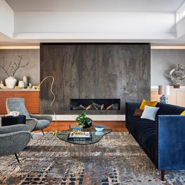 Dolores Heights Home-Living Room
