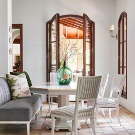 Breakfast Room with Banquette Seating