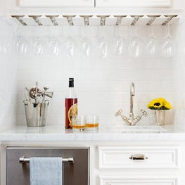 Crisp White Bar Nook