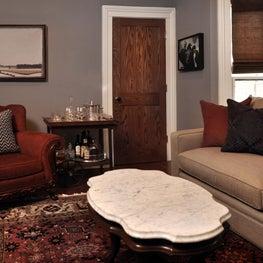 Evanston Historic Single Family - Study & Piano Room