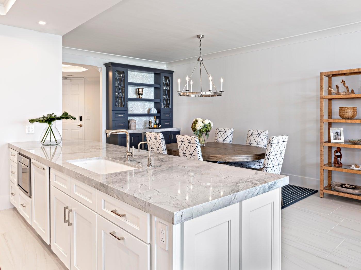 Jupiter Ocean Grande - Condo Renovation: Kitchen to Custom Bar