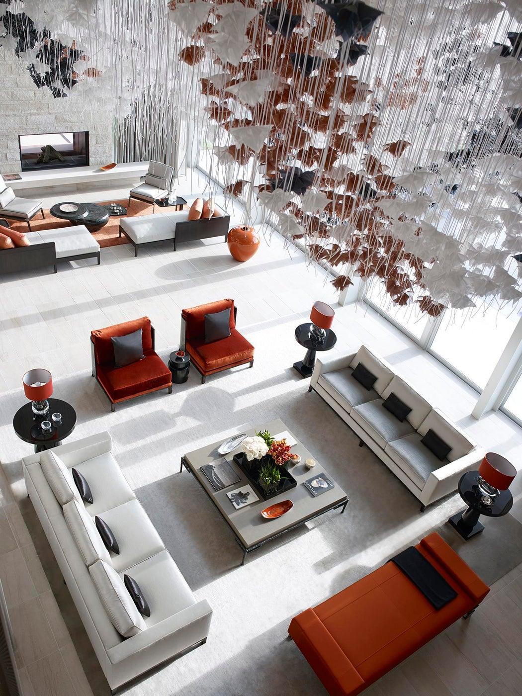 Vero Beach Residence - Formal Living Area