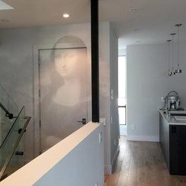 Mona Runneth Over, Residential Wallpaper