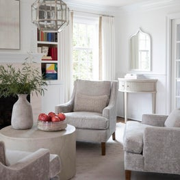 Custom Upholstery and Window Treatments in a Wilmington, Delaware Home