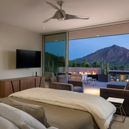 Room with a View, Master suite with Mountain Views