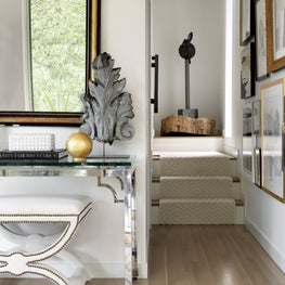 Brynn Olson Design Group - Bucktown Residence - Entry Foyer Vintage Collected