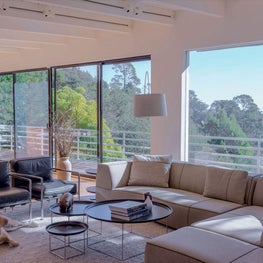 Modern Living room with a view.