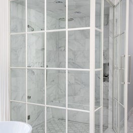 Oakton Terrace - Master Bathroom Shower