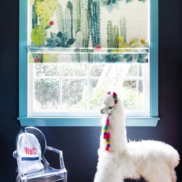 Eclectic Kid's Playroom