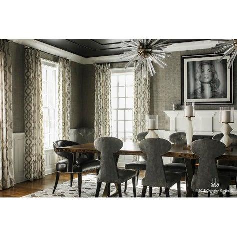 Modern Glam Mid-Century Dining Room