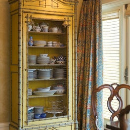 Pacific Heights Residence Kitchen hutch
