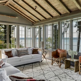 South Camp Cabana- Living Room