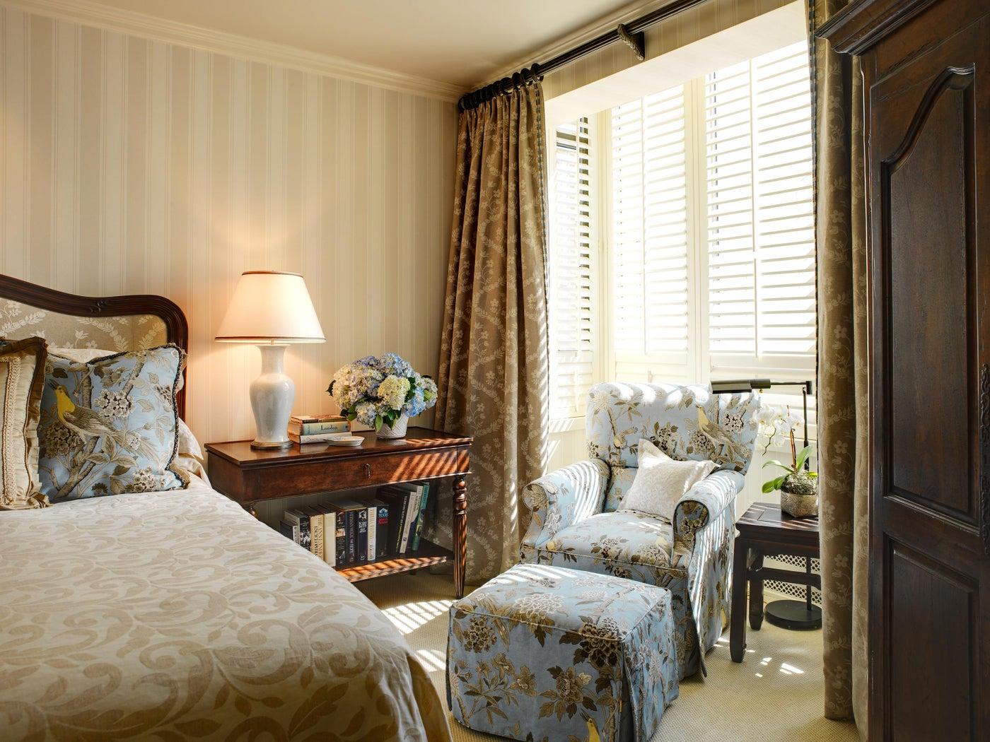 Nob Hill Highrise master bedroom