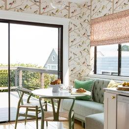 Golden Gate Heights Residence: Kitchen Breakfast Nook