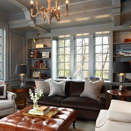 Grey Paneled Sitting Room