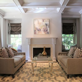 Living Room in Neutral Tones.