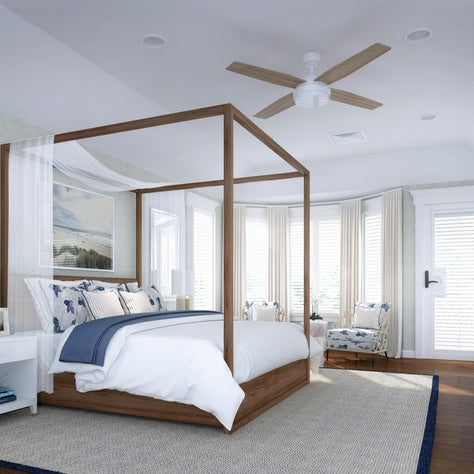 Sea Girt Beach House Master Bedroom