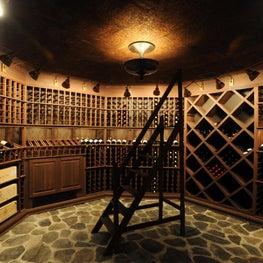 Tuxedo Park Wine Room