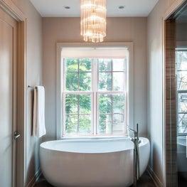 Earthy Glamour, Master Bathroom