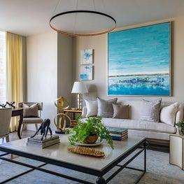 Living Room - Boston Hi Rise