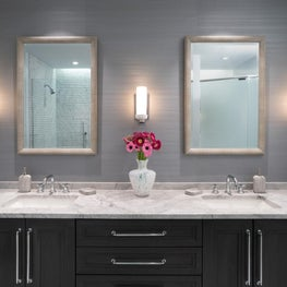 Urban Master Bathroom Vanity Wall